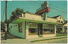 Oasis Restaurant in Florence SC Postcard Roadside