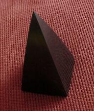 Shungite Polished High Pyramid 6,7cm Healing Protection Schungite Karelia Russia