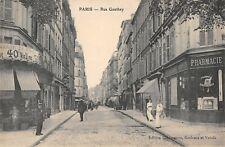 CPA 75 PARIS XVIIe RUE GAUTHEY