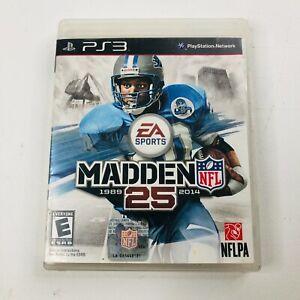 EA Sports Madden NFL 25 PlayStation 3 Football Athletic PS3 1989-2014 E Everyone