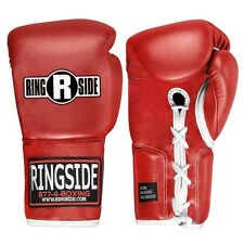 Ringside Professional Fight Gloves 8oz Red, New Boxing Gloves