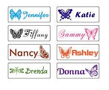 custom name stamp school teacher kids book self ink pre butterfly presonalized