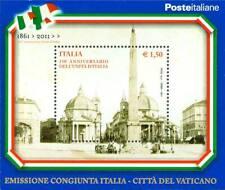 ITALIA 2011 150° ANNIVERSARIO DELL'UNITA' D'ITALIA FOGLIETTO BF 60