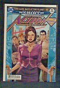 DC Superman Action Comics #965 Lois Lane, Back at the Planet