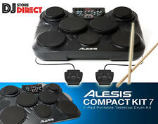 ALESIS COMPACT KIT 7 Pad Portable Electronic Kids Drum Kit USB MIDI + Drumsticks