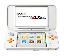 Nintendo 2DS XL White/Orange Handheld System
