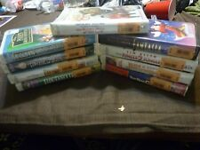 Lot of 9 Disney VHS Most Brand New Sealed Never Opened Jumanji/Jungle/Pooh/Tower
