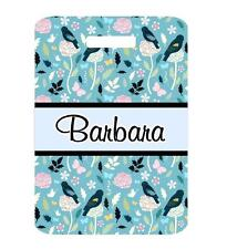 Personalized BIRD Theme BAG TAG For Luggage Bags 2 Sides Printed