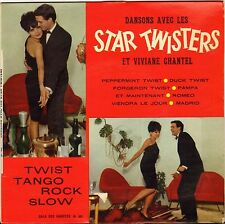 """LES STAR TWISTERS """"PEPPERMINT TWIST"""" 60'S EP"""