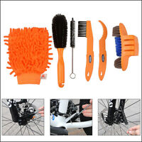 Cleaning Tool Brush Kit  Bicycle Bike Motorcycle Tire Chain Gear Wash Wheel