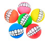 Dogs Toys Ball mouth Fun Game Pet Balls Squeaky Rubber Toy Puppy Pets Funny Play