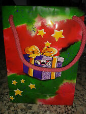 Diddl kleine Weihnachts-Geschenketüte mit Band