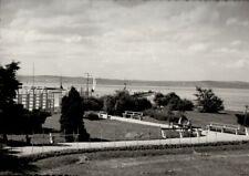 Postcard - Balaton Lake (Siófok) - Part of the Beach - Hungary - Ca. 1960s