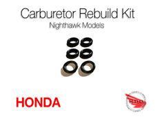 Nighthawk 750 650 550 Honda Carb Fuel Tube Connector orings oring seals CB cb