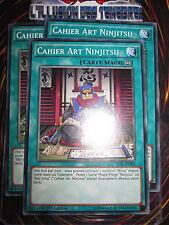 YU-GI-OH! COM CAHIER ART NINJITSU PLAYSET (LOT DE 3) TDIL-FR081 FRANCAIS ED 1