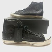 Mens Converse x John Varvatos Ctas Hi Mini Stud Leather Black Multi Sz (151295C)