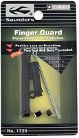 Saunders Archery Finger Guard, No Glove Shooting, Soft Molded Waterproof