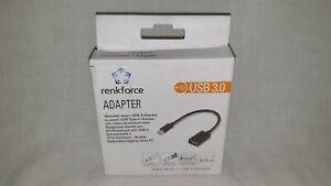 Renkforce USB 3.0 Adapter [1x USB-C™ Stecker - 1x USB 3.0 Buchse A]