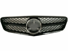 For 2008-2013 Mercedes Benz W204 C63 C-CLASS AMG Style grille Grill chrome Logo