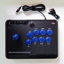 ARCADE Joy Fight Fighting STICK F300 PS4 PS3 XBOX ONE XBOX 360 PC Mac MAYFLASH
