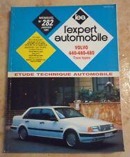 revue technique l'expert automobile l'ea N°282 VOLVO 440 460 480 FICHE TECHNIQUE