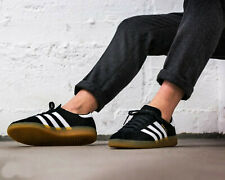 competitive price cf537 6c706 BNWB   Authentic Adidas Originals ® München Black White Suede Trainers UK  Size 8
