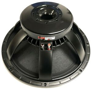 "18"" Pro Woofer 4"" Glass Fibre VC, Demodulation Ring, 2400W, 26 LBS, MB Acoustics"