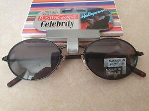 Foster Grant Sunglasses Womens Mens Unisex UV Protection Black Brown
