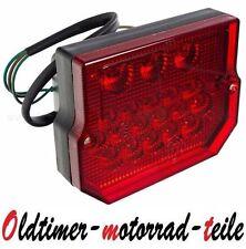 Rücklicht 12V TUNING 22 LED Bremslicht f. Simson SR50 S51 MZ ETZ 150 250 251 301