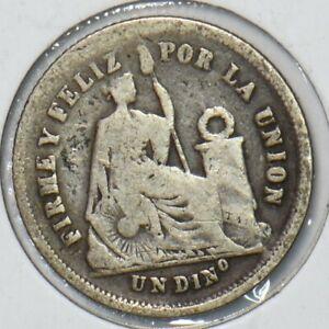 Peru 1866 Dinero 295733 combine shipping