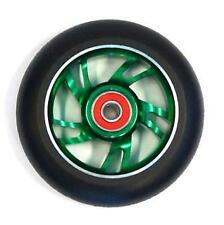 BulletProof Scooter Wheel - Alloy Metal Core - 100mm - ABEC 9 Bearings - GREEN