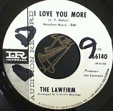 Garage 45 Promo Lawfirm I love you more / Time Imperial 66140
