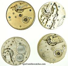 QUANTITY OF LEVER WATCH MOVEMENTS 4 PIECES FOR SPARES Q6