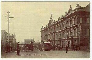 [MELBOURNE] Spencer St. Railway Offices - Postcard