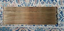 Wonderful Complete Set of 14 x Victorian Brass Stair Rods with Fixings
