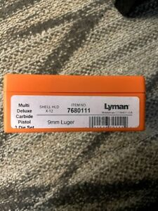 Lyman 9mm Carbide Size and Seat Die