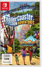 Nintendo switch juego Roller Coaster Tycoon nuevo New 55