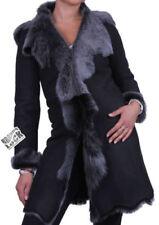 Cappotti e giacche da donna lunghezza lunghezza al ginocchio in pelle taglia M