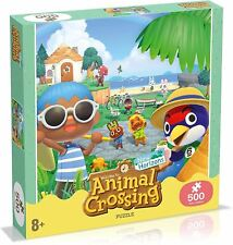 500pc Animal Crossing Horizons 50cm Jigsaw Puzzle Kids 8y Educational Toy