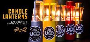 UCO Candle Lantern Original 9 Hour Long Burning Collapsible Warm Natural Light