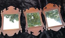 1 of 3 Late 19th/Early 20th Cent. Chippendale Style Wall Sconce Mirrors