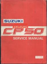 Suzuki CP50 CP80 (1985-1994) Genuine Factory Repair Manual Book CP 50 80 CF32