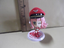 """#B131 Unknown Anime 3""""in Pink Hair Sheryl Nome Skimpy Red Outfit & Captains Hat"""