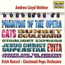 Audio CD - Broadway - Andrew Lloyd Webber by Erich Kunzel - Phantom of the Opera