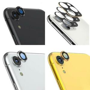 ALUMINIUM TEMPERED GLASS CAMERA LENS SCREEN PROTECTOR FULL COVER FOR IPHONE XR