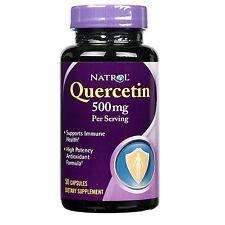 Natrol Quercetin, 500 mg, Capsules 50 CT