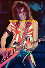 $1.00  4x6 photo-- KISS   VINNIE  VINCENT   1984 NYC  GENE SIMMONS PAUL STANLEY