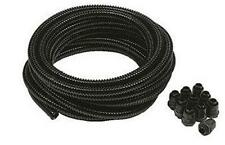 20mm 10M Black Flexible Conduit Corrugated Cable Tube Contractor Pack (Copex)