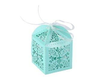 Baby Shower Favour Boxes Box Christening Cross Baptisim Wedding Favor