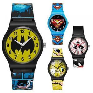 Unisex Watch WARNER BROS Silvestro Tweety Superman Batman Silicone Boy WB